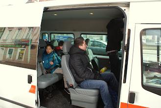 Photo: bus 2, bijna gereed voor vertrek...