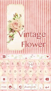 Vintage-Flower-Keyboard-Theme