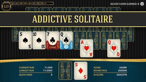 Chain: Deluxe Card Solitaire Challenge  screenshots 1