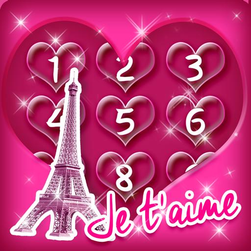 Cute Paris Lock Screen