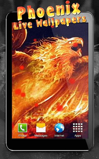 Phoenix Live Wallpaper  screenshots 6