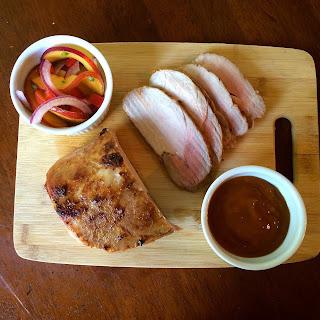 Peach & Bourbon Roasted Pork