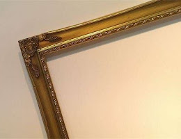 Gold picture frames in London