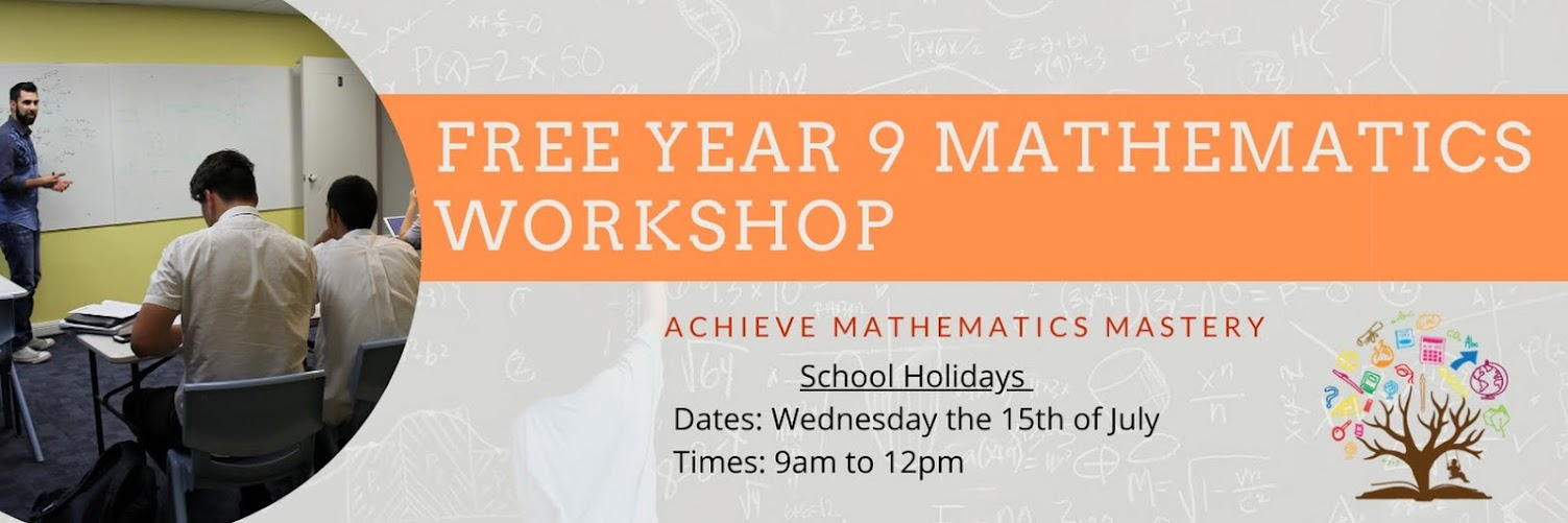 FREE Year 9 Maths Workshop