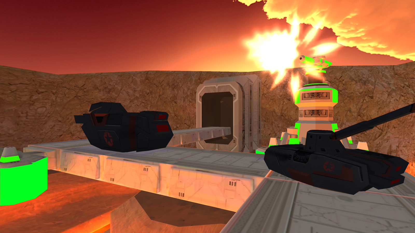 Caldera Defense VR- screenshot