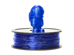 Translucent Blue MH Build Series TPU Flexible Filament - 2.85mm (1kg)