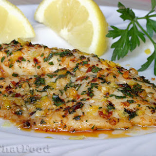 Lemon Pepper Tilapia.