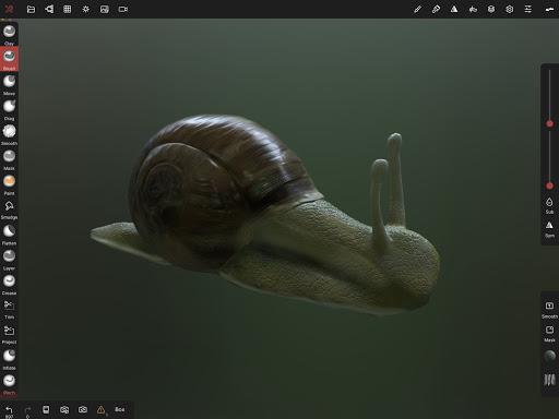 Nomad Sculpt screenshots 11