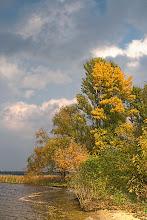 "Photo: Autumn at the ""Kiev Sea"""