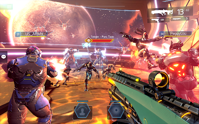 SHADOWGUN LEGENDS - FPS PvP Free Shooting Games APK screenshot thumbnail 16