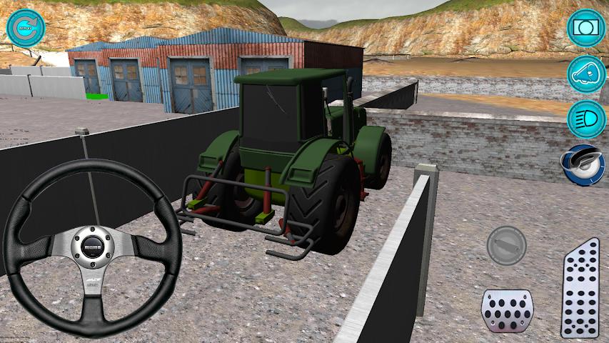 android Traktör: Simülatör 3D 2016 Screenshot 3