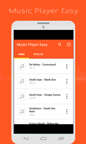 android Music Player Easy Screenshot 0