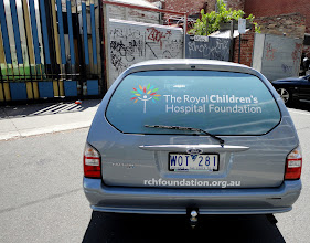 Photo: Rear Window Vehicle Branding for RCH http://www.decentlyexposed.com.au/autoskin/?p=11250&preview=true LessEdit