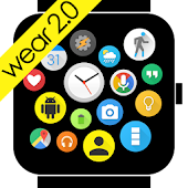 Bubble Cloud Wear Launcher Watchface Android Wear