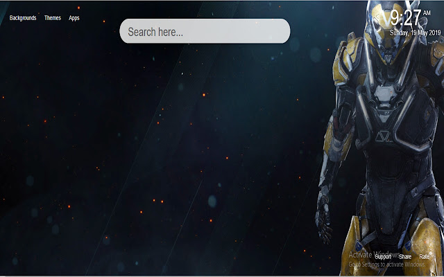 Anthem HD Wallpapers New Tab