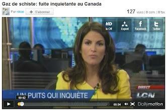 """Photo: Juillet 2011...Des fuites de puis au Canada. """"Un puis ne peut être fermé une fois foré!!!"""". http://www.dailymotion.com/video/xk3abx_gaz-de-schiste-fuite-inquietante-au-canada_webcam"""