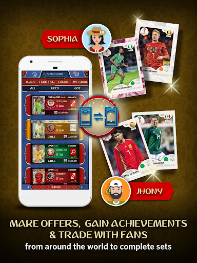 FIFA World Cup Trading App 1.1.2 screenshots 15