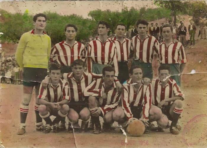 Pedro Pastor ya marcaba goles en los cincuenta,
