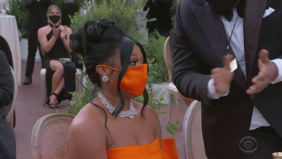 Most Popular Grammy 2021 Outfits Experiments with Masks