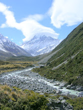 Photo: Mt. Cook in New Zealand
