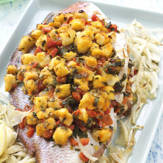Baked Fish with Fennel and Tomato