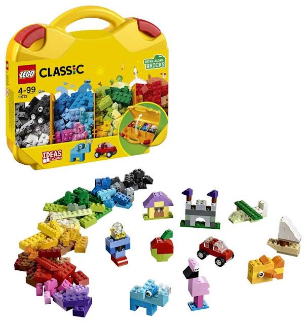 Contenido de Lego® 10713 Maletín Creativo