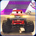 Lightning Mcqueen Monster Truck: Mcqueen Racing 3D