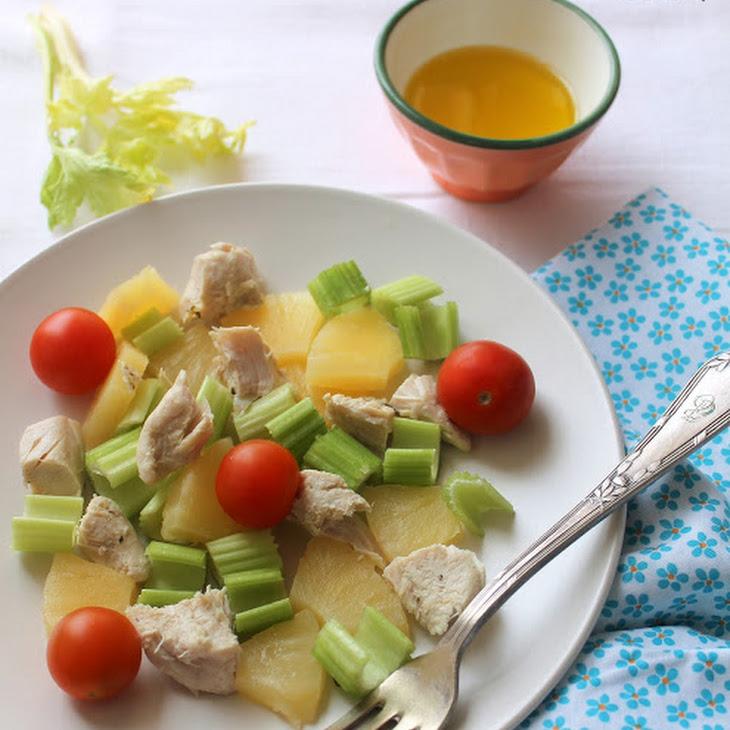 Light Salad for After Over Indulging Recipe