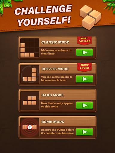 Fill Wooden Block 8x8: Wood Block Puzzle Classic  screenshots 10