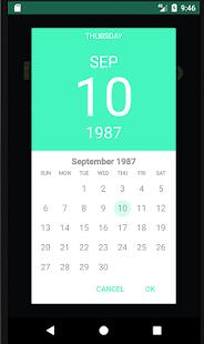 Birthday Info - náhled