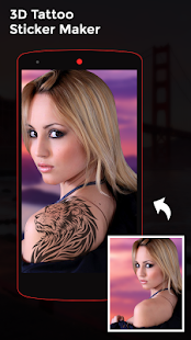 3D Tattoo Photo Editor - náhled