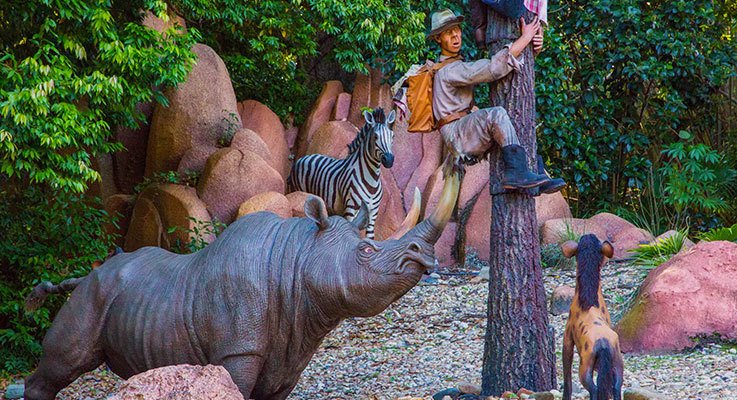 Jungle Cruise Transforms For Christmas