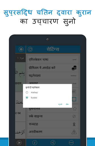 Quran in Hindi (हिन्दी कुरान) screenshot 7