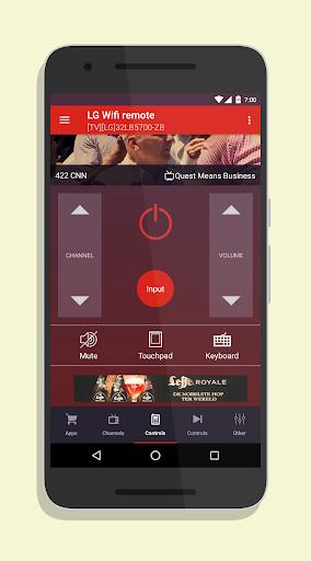 Smart TV Remote for LG SmartTV 2.2.2 screenshots 1