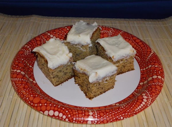 Vanilla Frosted Banana Cake Recipe