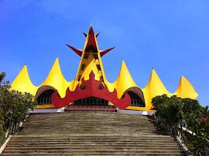 Photo: Bakauheni. Menara Siger.
