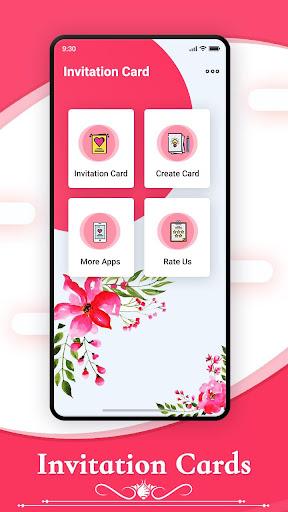 Digital Invitation Card Maker By Photo Video App Developers