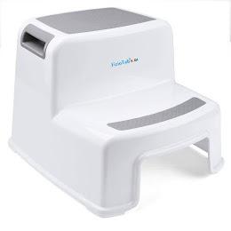 Scaunel inaltator WC pentru copii, FizioTab®Kids Two Step Stoll