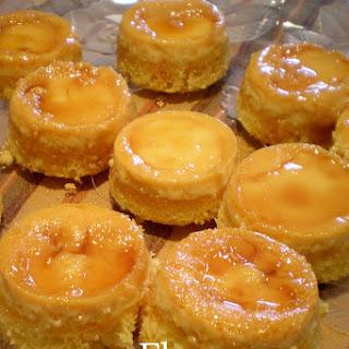 Caramel Custard Flan Cupcakes.