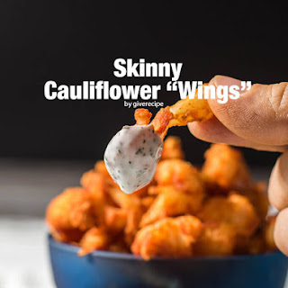Skinny Cauliflower Wings.