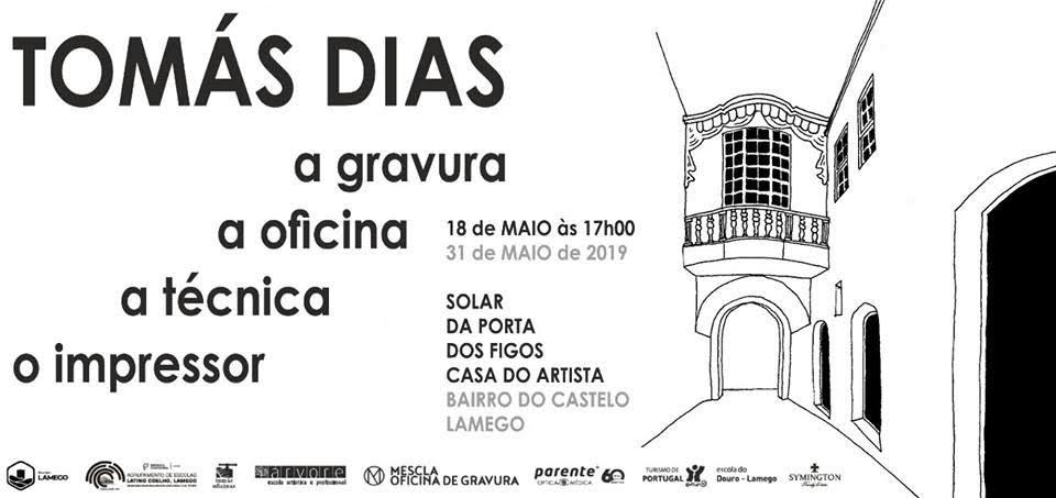 Câmara de Lamego inaugura sábado mostra de Tomás Dias