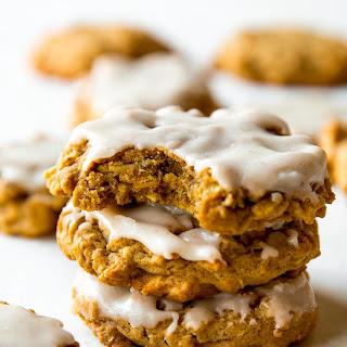 Brown Butter Pumpkin Oatmeal Cookies.