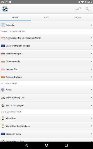 Football Live Scores screenshot 9