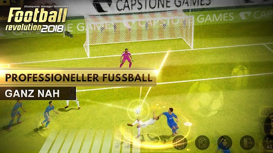 Football Revolution 2018: 3D Real Player MOBASAKA Screenshot