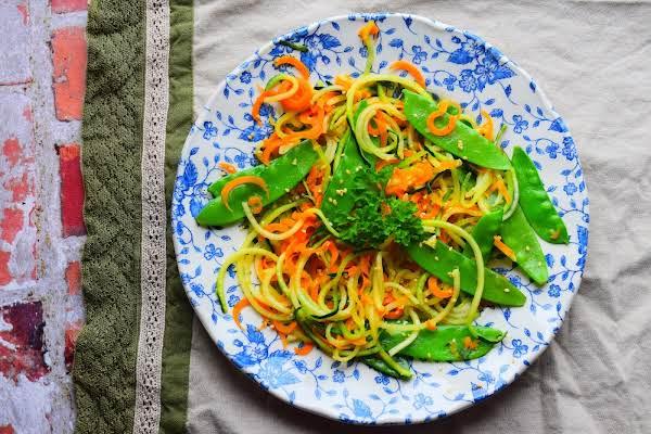 Courgette Noodle Salad Recipe