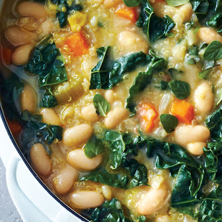 Vegetarian White Bean Chili.