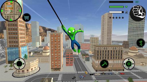 Spider Stickman Rope Hero  2 - Gangster Crime City 1.5 screenshots 2
