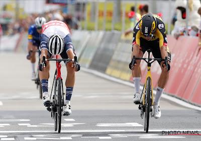 HERBELEEF: Wout van Aert Belgisch kampioen na nipte sprint tegen Theuns, ook Evenepoel op het podium