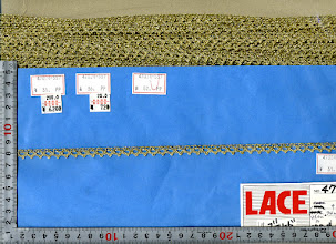 Photo: №47024ー557金トーション:巾8.5mm №47024-447ー銀トーション:巾24mm