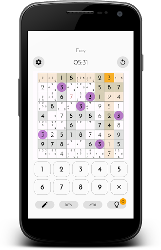 Classic Sudoku Free 1.1.2 screenshots 2